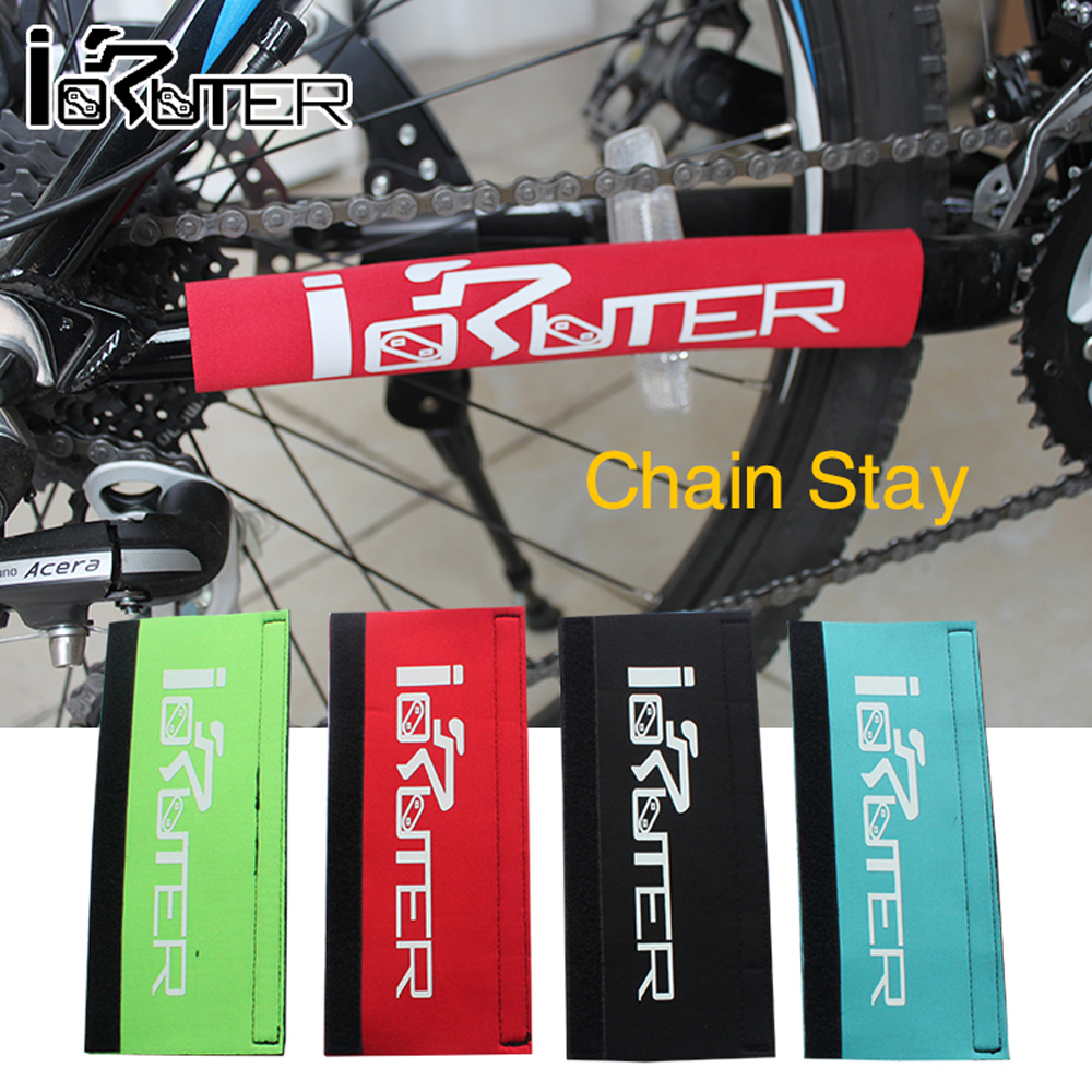 Гаджет  Mountain Bicycle Chain Protector Colorful Chainstay Bike Bicycle Guard Cover  None Спорт и развлечения