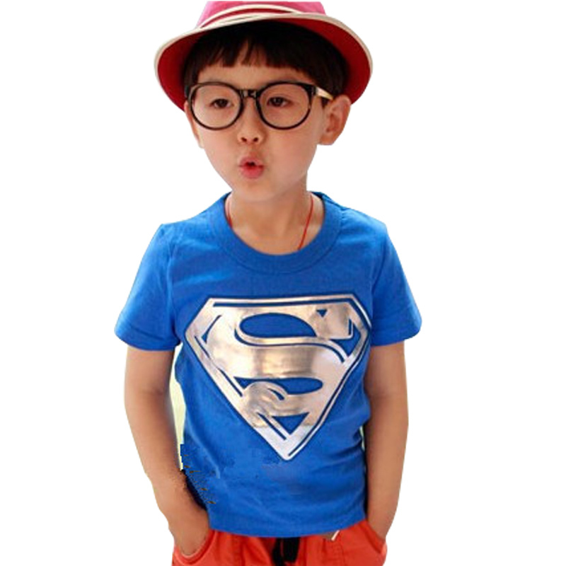Гаджет  Hot Sale Children Kids Clothing Tees,Cool Superman Baby Boys T Shirts For Summer,Children Outwear Baby T-shirt None Детские товары