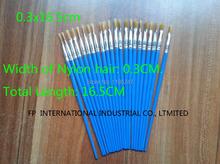 100PCS/LOT. plastic oil brush,Paint brush,Watercolor brush,Draw tools, Art brush,.Art tools 0.3x16.5cm,Bulk wholesale.Cheapest(China (Mainland))