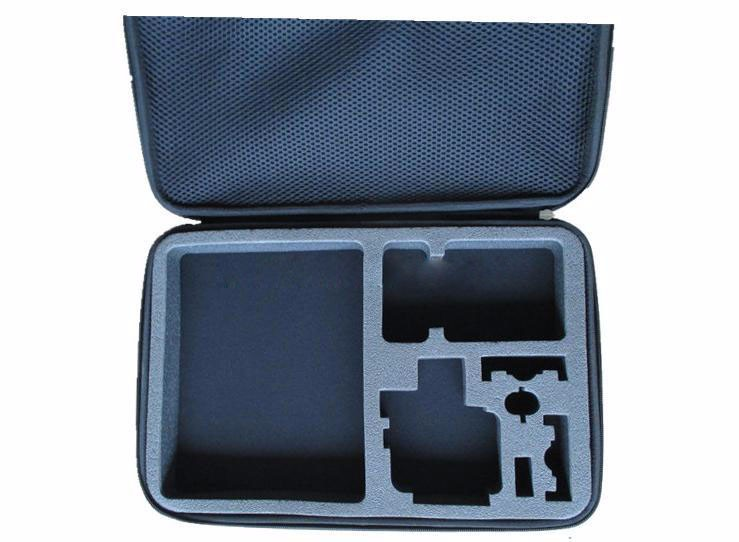 go pro case accessories Big size collection box bags for xiaomi yi GoPro hero 4 3+ 3 2 and sj4000 EVA Portable Collection Box