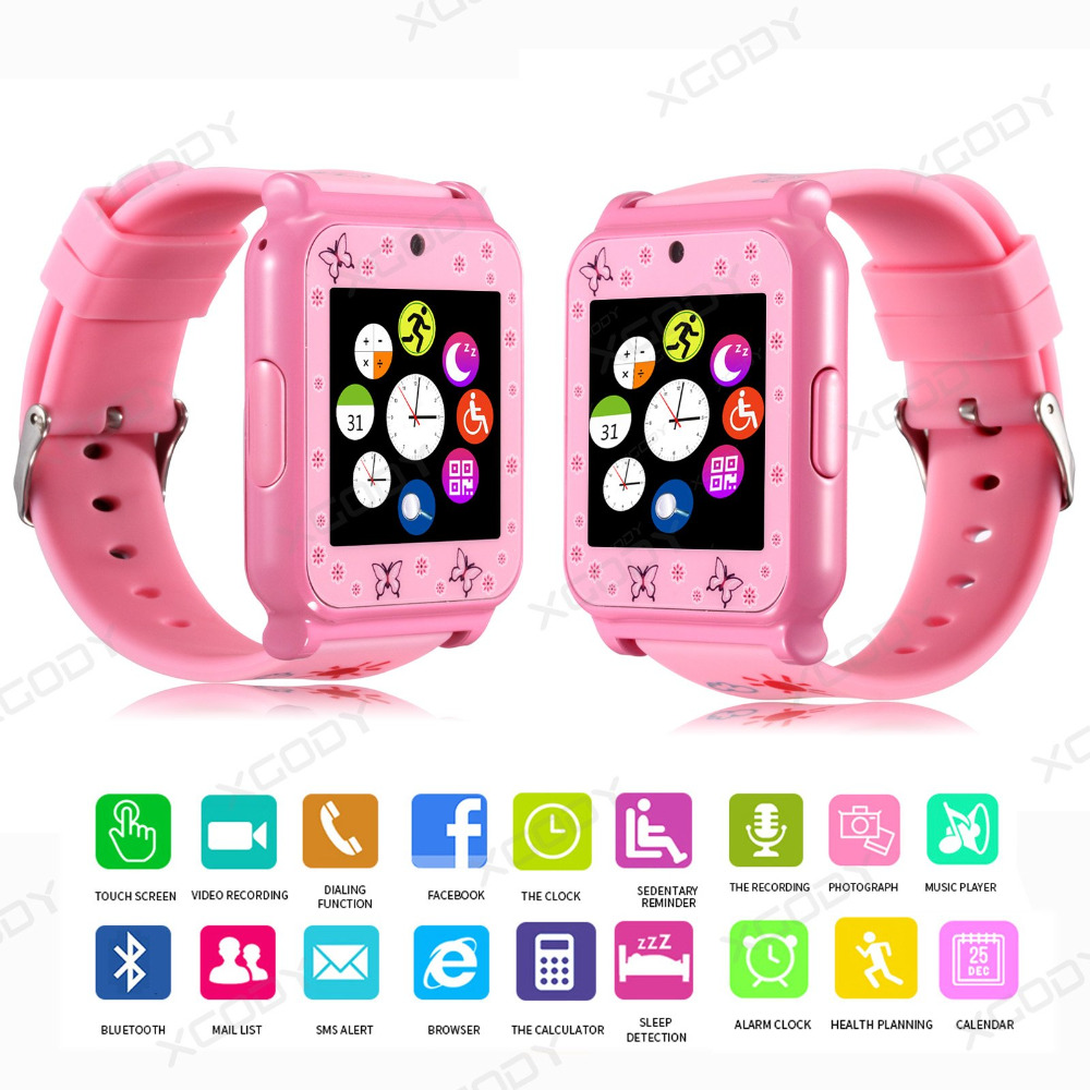 XGODY W90 Childre's Watches Bluetooth Smart health Watch Phone SIM GSM Camera Anti-lost Smart watches for children Pedometer(China (Mainland))