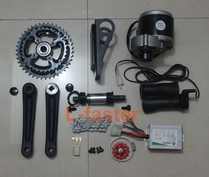 48v 450w e bike brushed motor mid drive electric bicycle for Mid motor electric bike