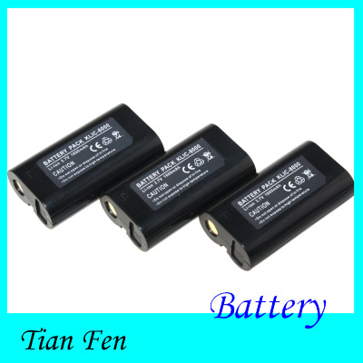 3PCS KLIC-8000 KLIC 8000 KLIC8000 Rechargeable Lithium Battery for KODAK Z612 Z712 Z812 IS Digital Camera(China (Mainland))