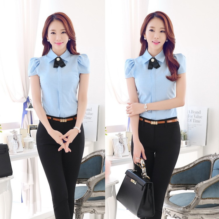 New 2015 summer office uniform designs women work wear for Office uniform design 2015