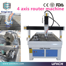 UNICH good working water cooling spindle cnc router/cnc cutter machine(China (Mainland))