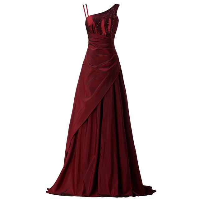 Грейс карин бургундия длинное вечернее платье 2016 из бисера вечернее платье мать ...