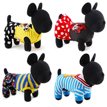 2016 New Small Dog Clothes Jumpsuit Chihuahua Yorkshire Terrier Dog Dress Princess Cute Mickey Mouse Pet Costume XXS XS S M L(China (Mainland))