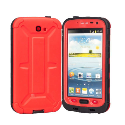 2014 New Waterproof Shockproof Dirt Dust Proof Case Cover for Samsung Galaxy Note 2 N7100 with Free Shipping(China (Mainland))