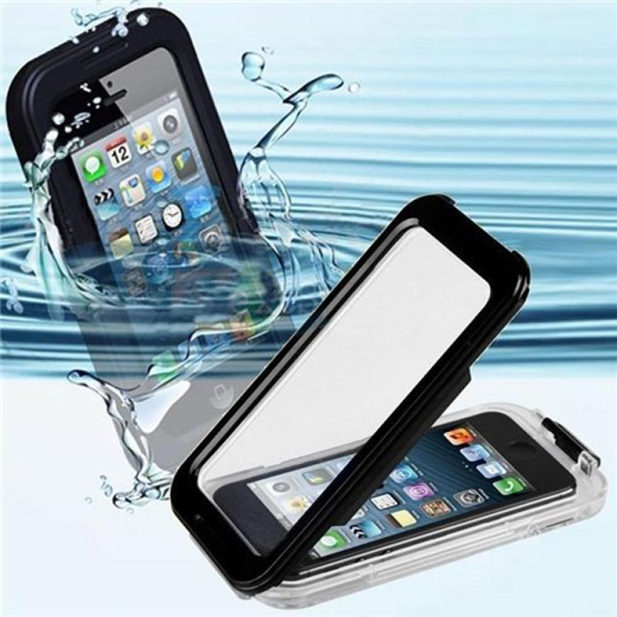 Hot selling IPX-8 25ft Waterproof Shockproof Dirt Proof protector Cover Case for iPhone 5 / 5S free shipping nice(China (Mainland))