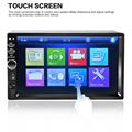 Universal 7 Inch Dual 2 Din Handsfree Car Bluetooth Audio MP5 Car Player 7018B 1080P HD