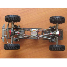 Alloy RC SCX10 1/10 Scale 4WD Rock Crawler Chassis Frame Kit Assembled - Flymodel store