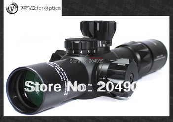 Tactical Vector Optics 2-12x32 FFP Compact 35mm Rifle Scope Long Eye Relief Illuminated Mildot Reticle