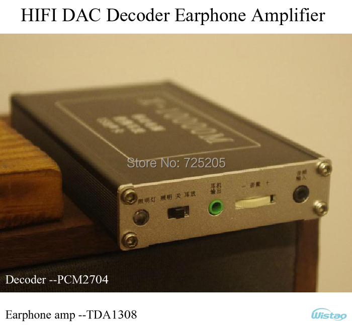 HIFI DAC Decoder Earphone Amplifier PCM2704 OP Amp TDA1308 9000Mah Battery Power Bank High Quality Cost Effective Free Shipping<br><br>Aliexpress