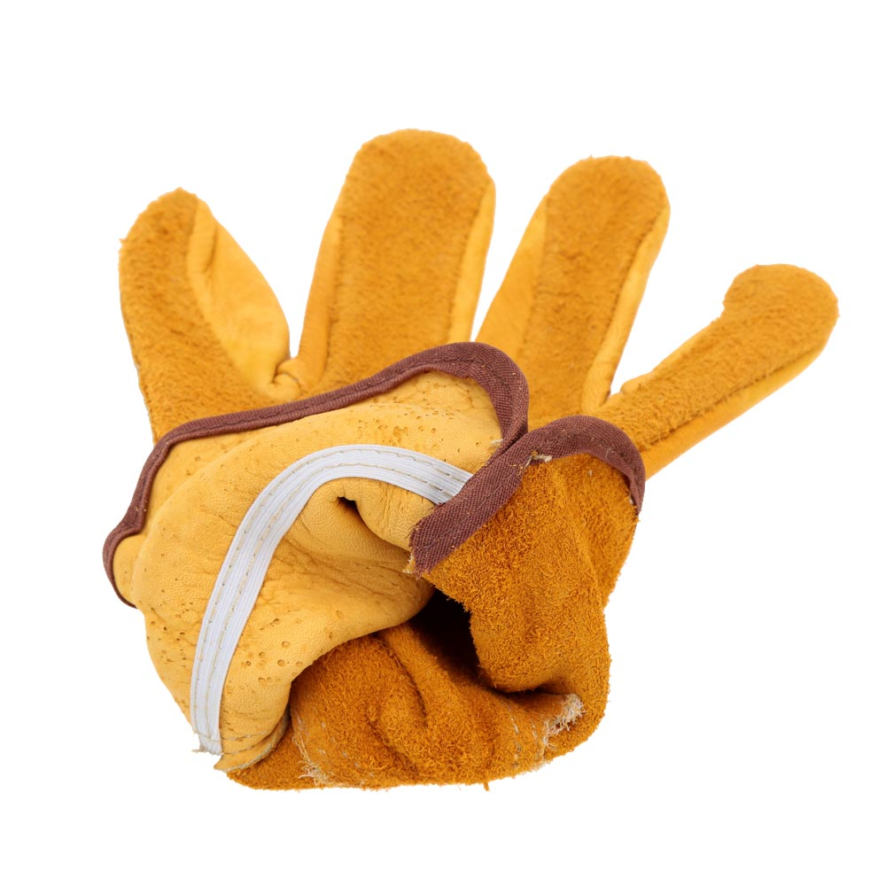 Leather work gloves china - Women Men Leather Driving Glove Soft Leather Working Safety Glove For Camping Hiking Household Gardening Glove