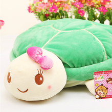 1pc 20cm Cute Tortoise Lovers Plush Animal Turtle Toys Baby Doll Nice Gift for Children Christmas Gift for Girls(China (Mainland))