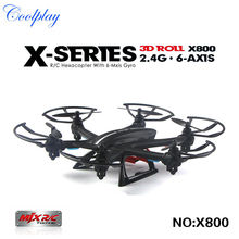 New Arrival MJX X800 2.4G RC quadcopter drone rc helicopter 6-axis can add C4002&C4005 camera(FPV) quadcoptepr(China (Mainland))