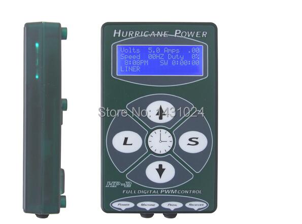 HP-2 Hurricane Tattoo Power  Professional Tattoo Supply Tattoo Digital Dual Power Supply Black Tattoo power unit Fountain Source<br><br>Aliexpress