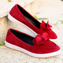 2016 Casual Bowtie Loafers Women Flats Solid Summer Style Shoes Woman(China (Mainland))