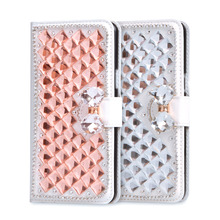 Buy ZTE Z11 mini Case Luxury 3D Rhinestone Leather Cover ZTE nubia Z11 mini Phone Cases Stand Flip Wallet Card Slot Fundas for $6.99 in AliExpress store