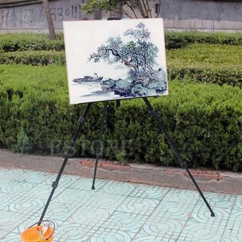 Dfree доставка исполнитель алюминиевого сплава складной станковой живописи регулируется штатив с сумке
