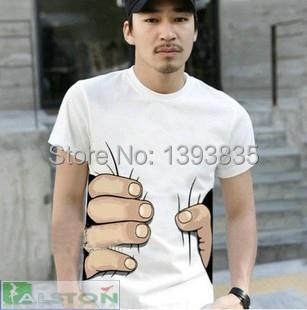 Мужская футболка T shirt 3D 3D t S M L XL T-shirt male мужская футболка t shirt tmt t s 2xl 160030
