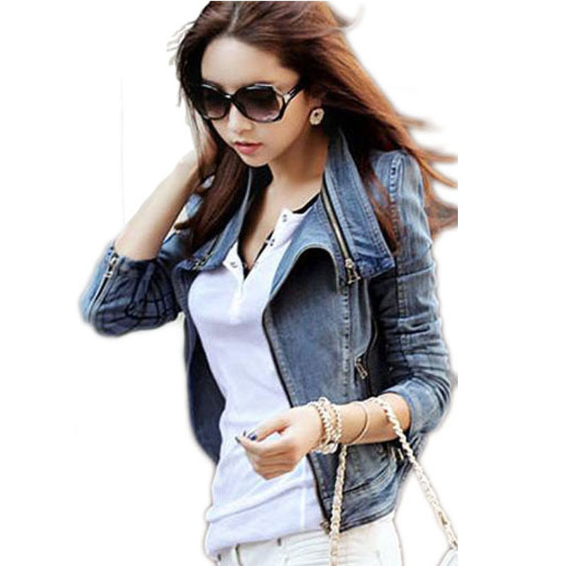 Compare Prices on Womens Studded Denim Jackets- Online Shopping