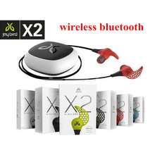 IN STOCK JAYBIRD X2 Bluetooth Wireless earphones sports running earbuds in-ear headset with box Black/white/Ice/Alpha/Charge(China (Mainland))