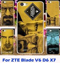 Mobile Phone Case ZTE Blade X7 V6 D6 5.0 Inch Hood Shell Breaking Bad Walter White Fundas Capa - Shenzhen WEE Technology Co., Ltd. store