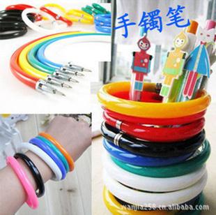 WHAT IS THIS? novelty toys funny gadgets funny pen Magic Bracelet pen ballpoint pen Z233-SZB(China (Mainland))
