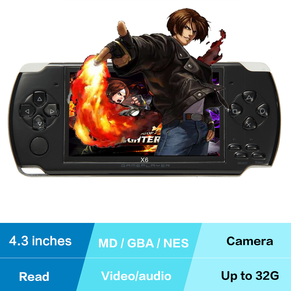 Original Coolbaby X6 Handheld Game Console Android Gamepad Game Console Video Game 8G Built In Memory TFT LCD Glassic Games(China (Mainland))