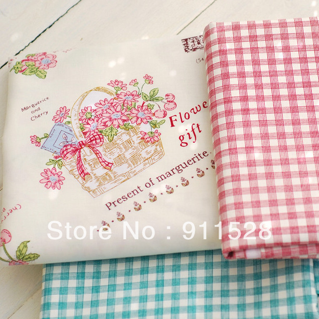 Buy shabby chic strawberries printed 100 for Wholesale childrens fabric