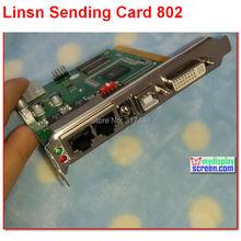 Linsn ts/sd801/802 full clolor rgb 1024*640 /  1280*512 pixel dvi/rj45 port sync led display  TS801D  Syncronous sending card(China (Mainland))