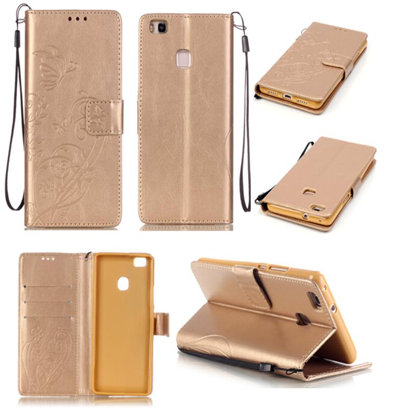 Case Huawei P9 lite PLUS P8 Lite Honor 4C 5C 5X 4A PU Leather Flip Wallet Capa Celular Ascend G8 Y6 Cover  -  S Mobile phone accessories shop store