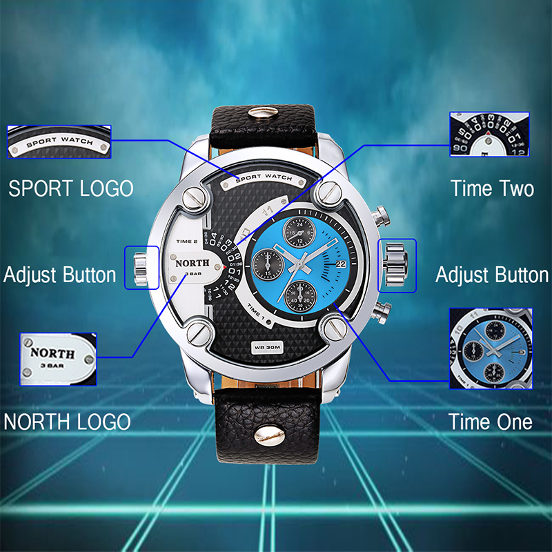 Men Sports Watch Relogio Masculino Hodinky Quartz Watch Whatch Men Quartz Wristwatch Erkek Kol Saati Military