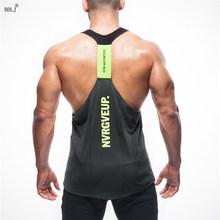 Buy BDLJ Musculation 2017 gyms vest bodybuilding clothing fitness men undershirt tank tops golds gyms undershirt Sportswear jerseys for $7.33 in AliExpress store