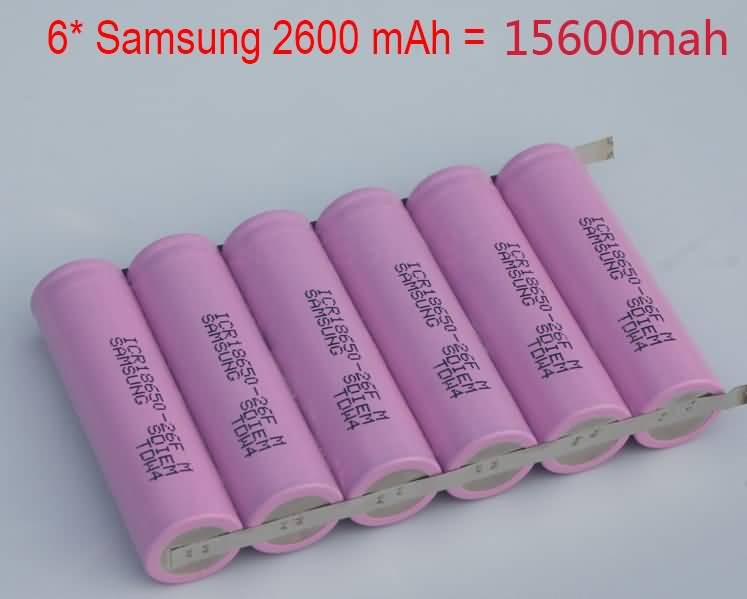 Комплект батарей 6 f