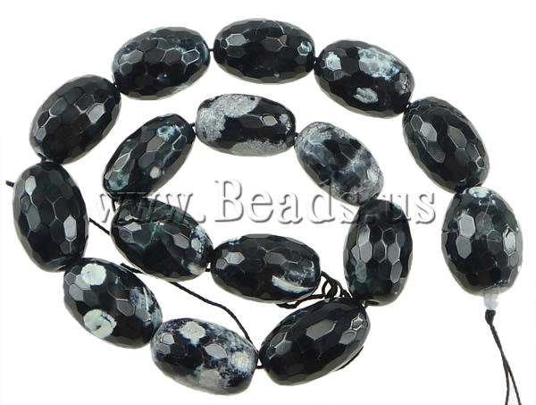 Free shipping!!!Natural Fire Crackle Aate Beads,2013 Brand, Oval, natural, 28x18mm, Hole:prox 2.5mm, Lenth:prox 15 Inch<br>