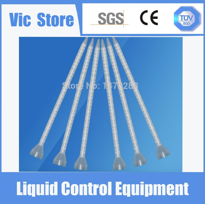 5PCS Resin Static Mixer MC05-32 Mixing Nozzles for Duo Pack Epoxies (White core)(China (Mainland))
