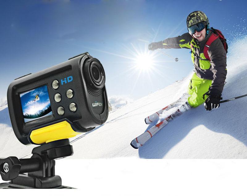 Wifi Action Camera 1.5'' Mee a3 Waterproof Sports Cam Full Hd 1080p Cmos Sensor Hdmi Output 1100mah 3.7v Polymer Lithium Battery(China (Mainland))
