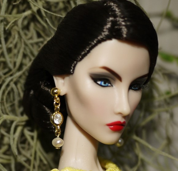 Handmade Vogue Jewellery  Earring  Equipment For Barbie Fr 1:6 Dolls BBIEAR001