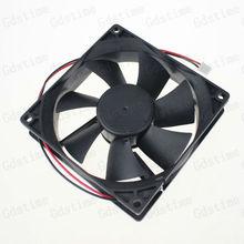 2pcs Lot 12V 97mm x 33mm 9733S DC Brushless Machine Equitment Exhaust Blower Cooler Fan