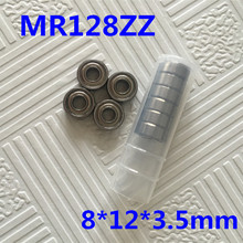 Buy Free 10 PCS MR128ZZ ABEC-5 8X12X3.5 mm Deep groove Ball Bearings MR128 / L-1280 ZZ for $6.46 in AliExpress store