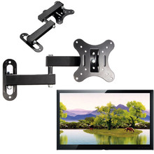 Articulating Universal TV Bracket 14 inch to 27 inch  LED LCD POP Flat Panel TV Wall Mount Holder(China (Mainland))