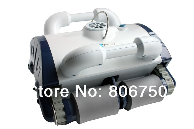 2013 Good Feedback Robotic pool cleaner (Remote controller ,Wall Climing Function) for swimming pool cleaning equipment