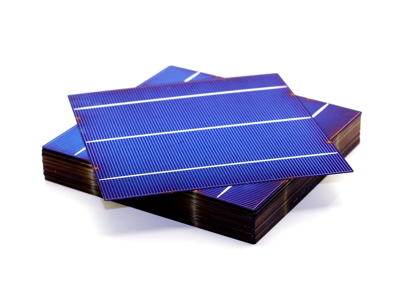 10 Pcs 4W 0 5V A Grade 156 156MM PV Poly Polycrystalline Silicon Solar Cell 6x6