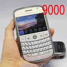 Refurbished 9000 Cellphone Original Blackberry 9000 Bold Mobile Phone Unlocked 3G GPS Wi-fi Bluetooth & One year warranty(China (Mainland))