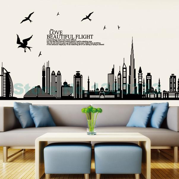 Vintage Wall Decor For Living Room : Decal decor removable wall art picture more detailed