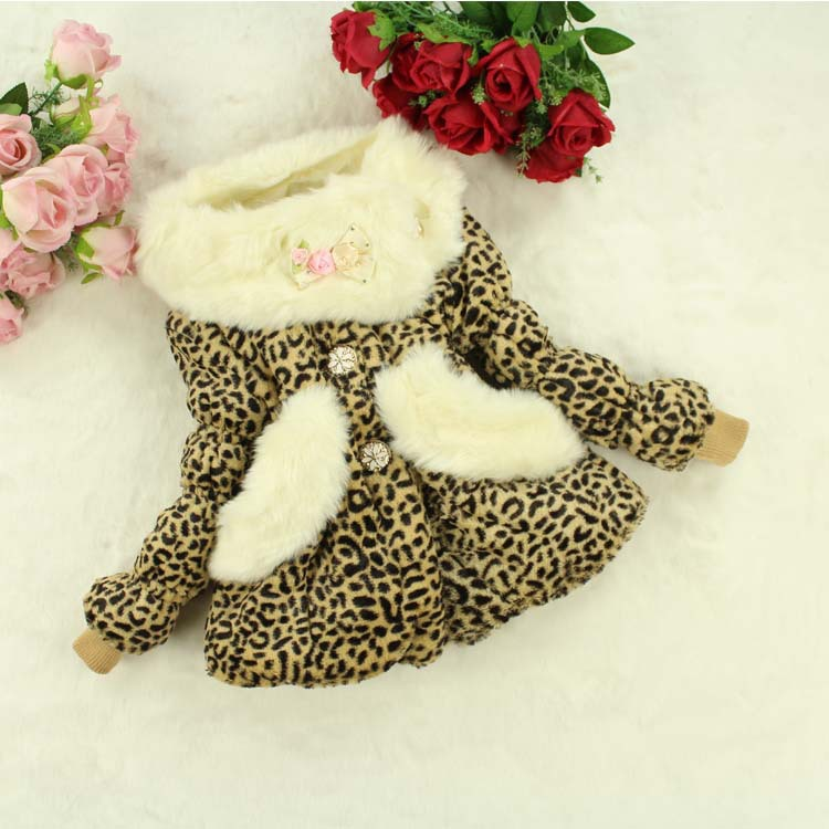 2015 New Retail High Grade Girl kids party   cotton sweater  , All Styles  Leopard Children Kids winter clothes<br><br>Aliexpress