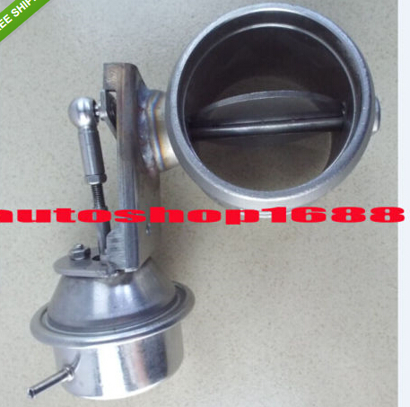 Exhaust Control Valve with Vacuum 60.5mm Pipe Actuator wastegate(China (Mainland))