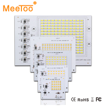 New Smart IC Floodlight COB Chip SMD 2835 5730 Led Bulb Lamp 10W 20W 30W 50W 90W Outdoor Long Service Time DIY Lighting In 220V(China (Mainland))